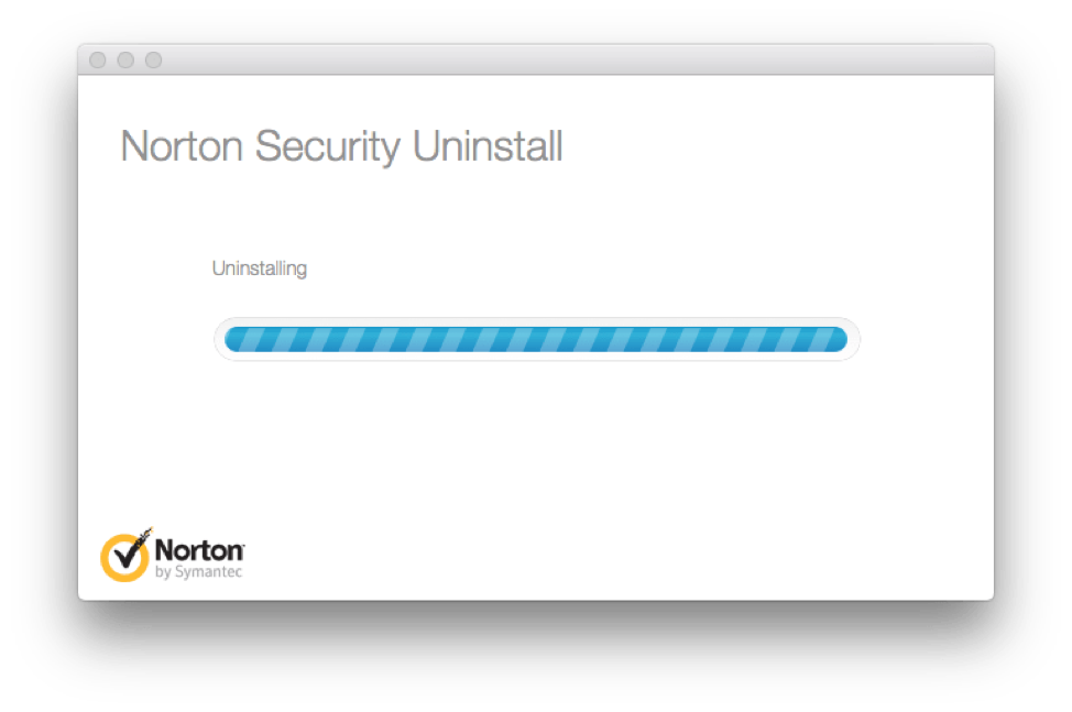 uninstalling nortor security